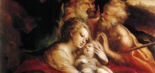 Parmigianino: Navitità con Angeli