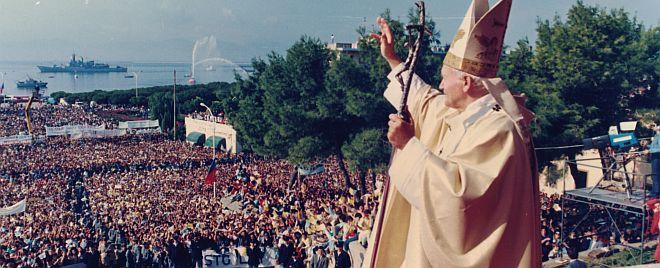 Le reliquie di San Giovanni Paolo II a Sant'Elena