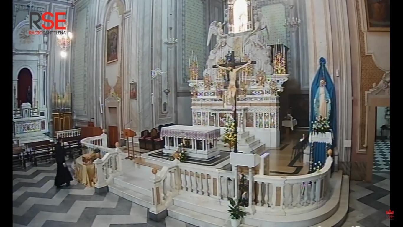 Diretta Streaming Basilica Sant'Elena Imperatrice - Quartu Sant'Elena